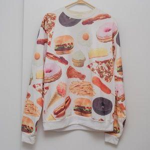 Rook Fast Food Pullover Sweatshirt, UO